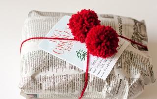 Regalar palabras en Navidad -RedactoTexto
